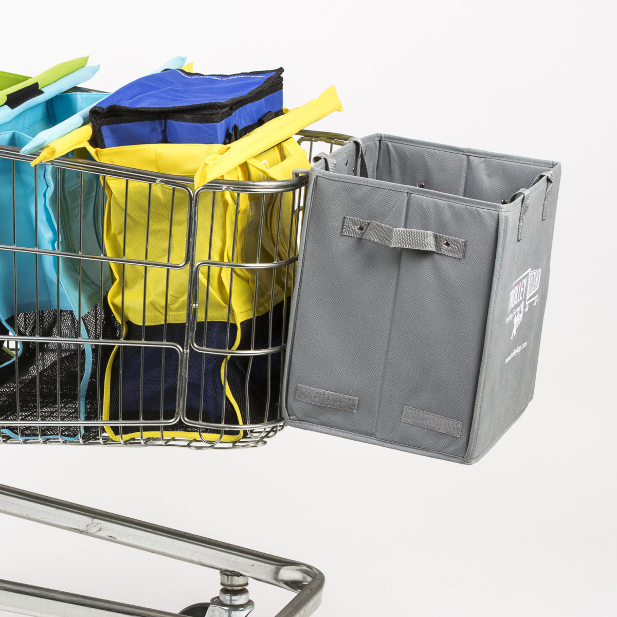 Trolley Bags Xtra also creates an extended trolley for those extra big shopping trips.