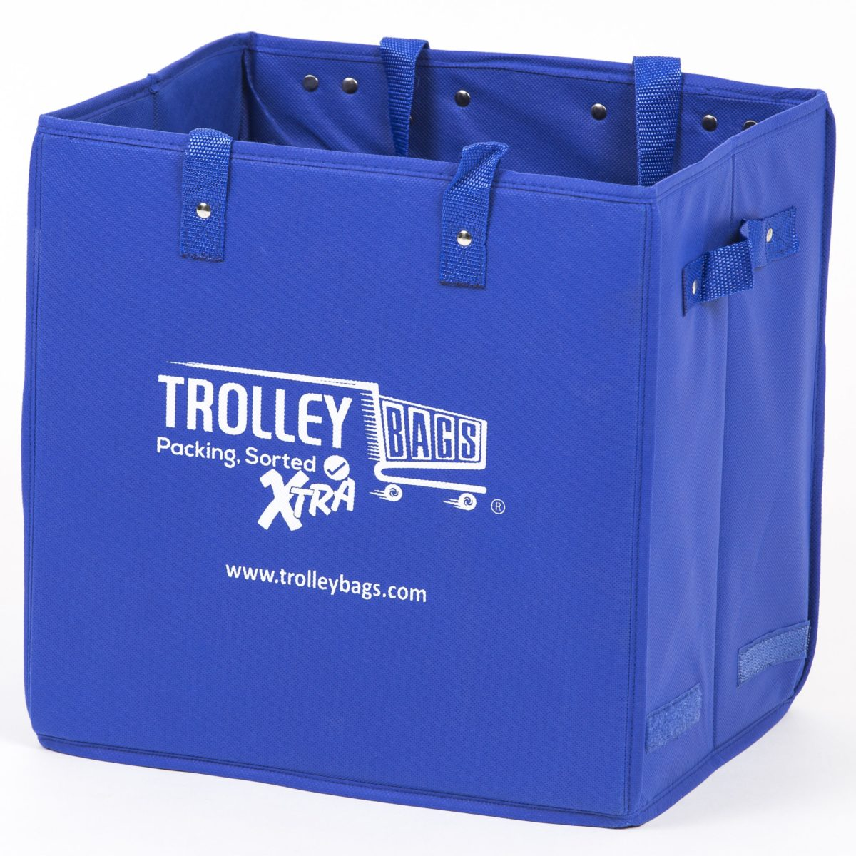 Trolley bags Xtra is stronger and more durable than your regular shopping bags.